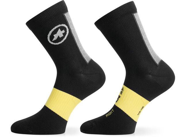 assos Frühling/Herbst Socken black series